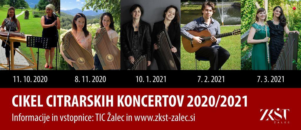 Cikel citrarskih koncertov 2020/2021
