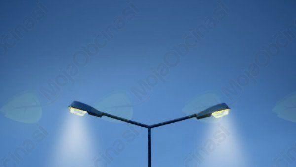 Moteno delovanje javne razsvetljave na Lesnem Brdu