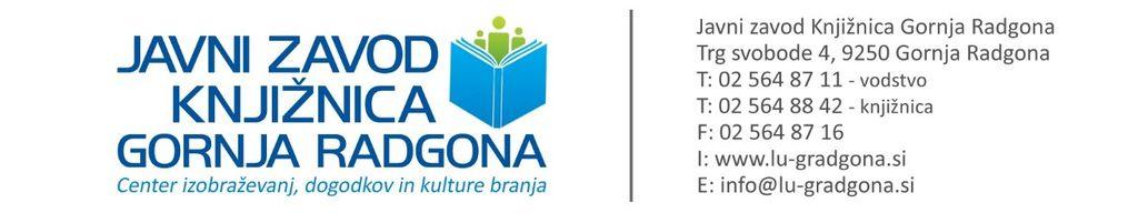 Delovanje knjižnice v Radencih