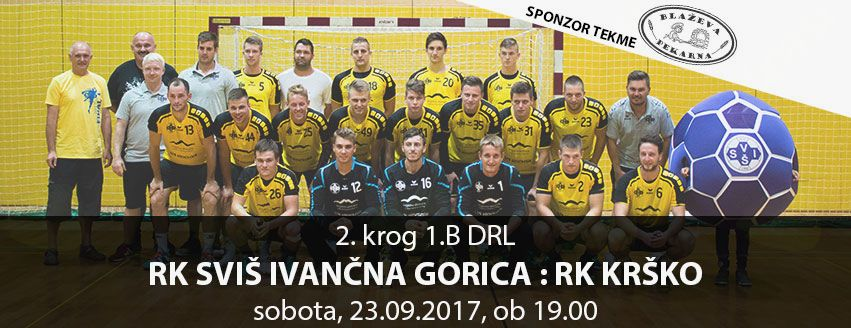 Rokometna tekma: RK SVIŠ Ivančna Gorica - RK Krško