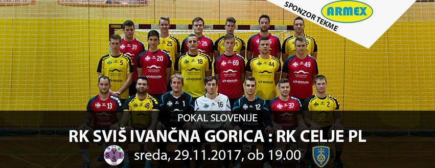 1/16 finala pokala Slovenije proti RK Celje Pivovarna Laško