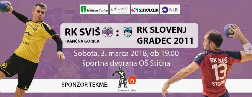 Vabljeni to soboto na rokometni derbi proti Slovenj Gradcu