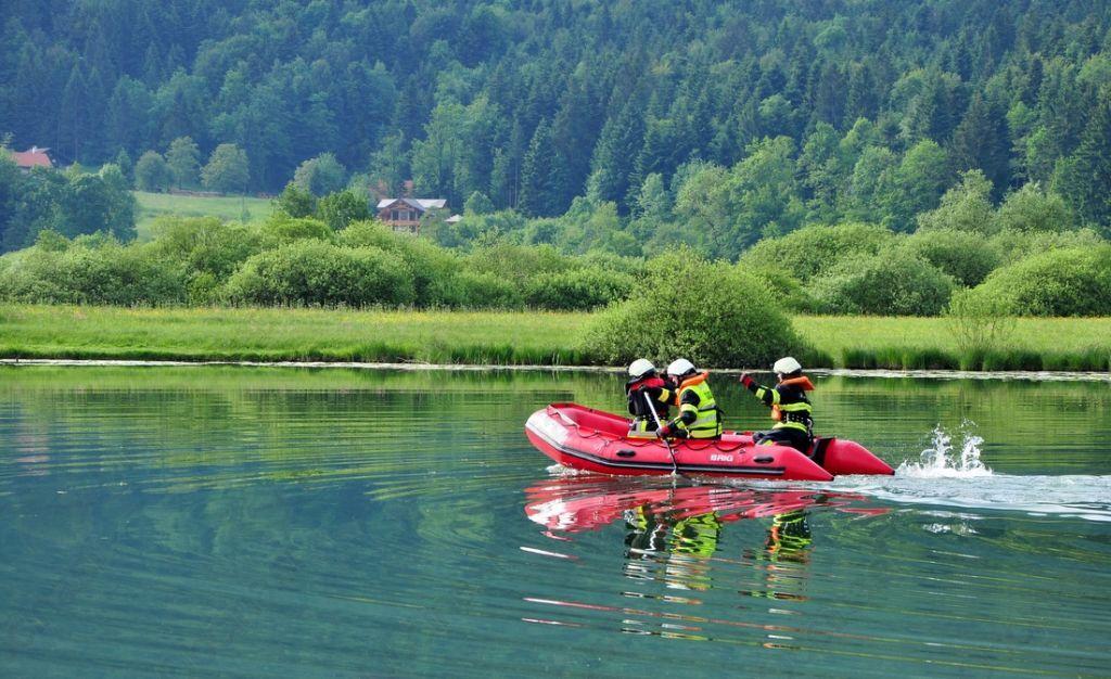 Podpeško jezero – reševanje na vodi