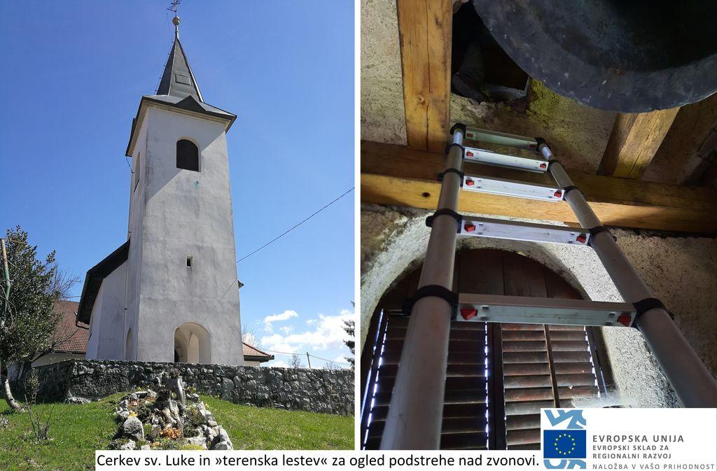 Štetje netopirjev v projektno obravnavanih cerkvah Planinskega polja