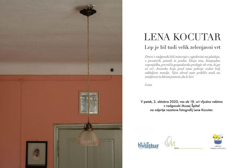 RADGONSKA HIŠA - razstava fotografij Lene Kocutar
