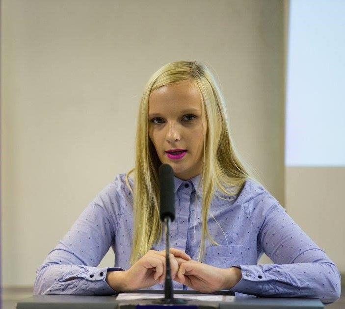 Sanja Slemenšek, predsednica Mladinskega sveta Občine Sevnica