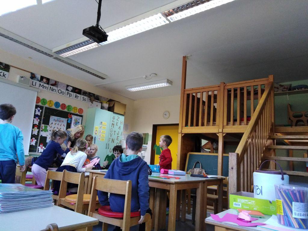 Učilnica = igralnica na OŠ Boštanj