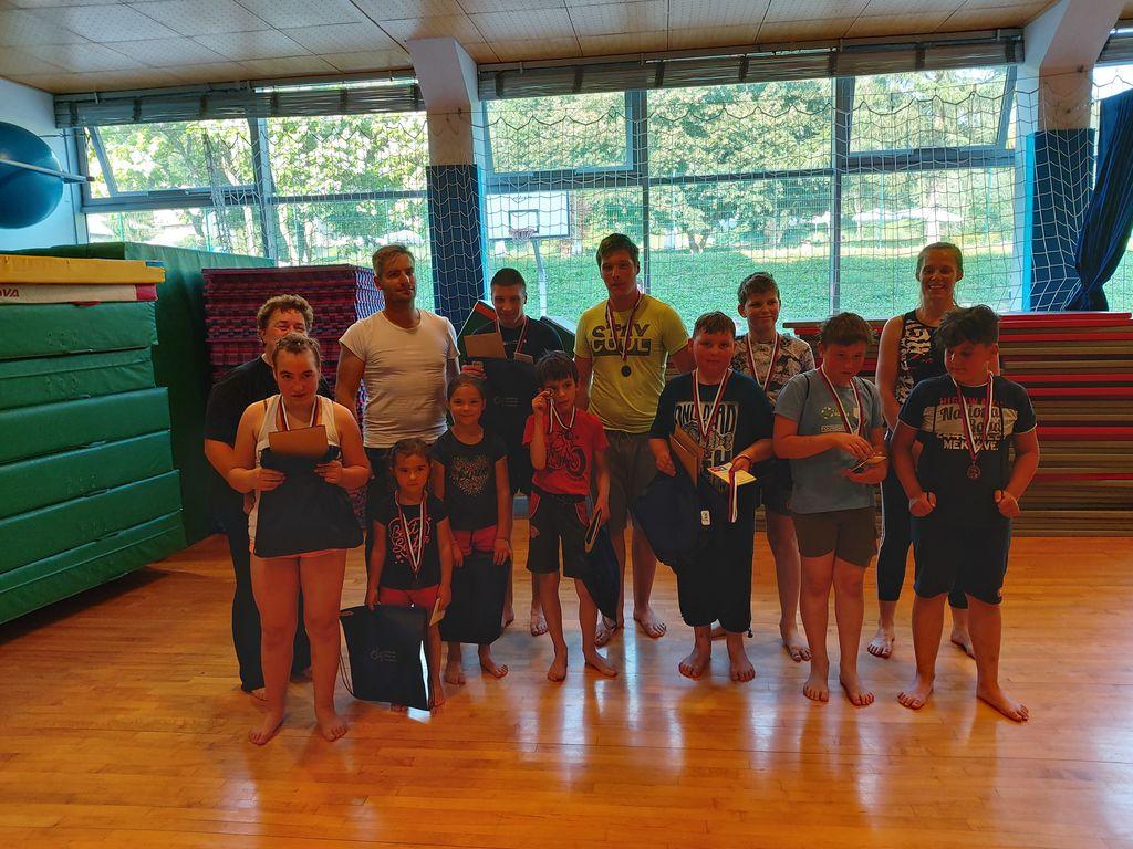V ŠD Partizan Sevnica so otroci s posebnimi potrebami prejeli medalje
