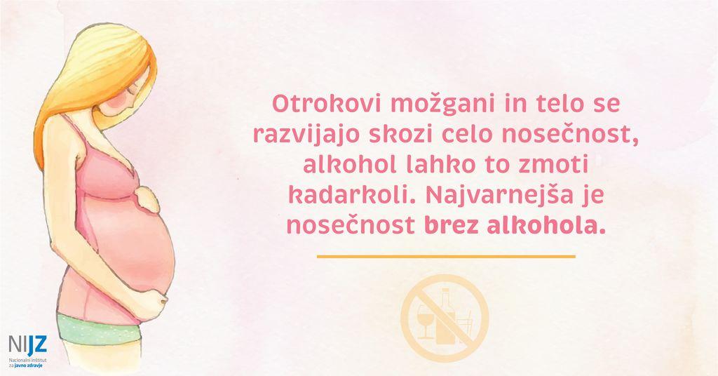 9. septembra obeležujemo dan fetalnega alkoholnega sindroma - FAS