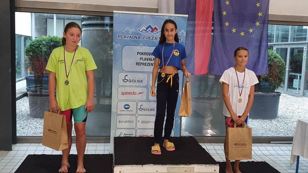 Video novica: Odličen uspeh mlade plavalke Lui iz Žalca na DP v Mariboru