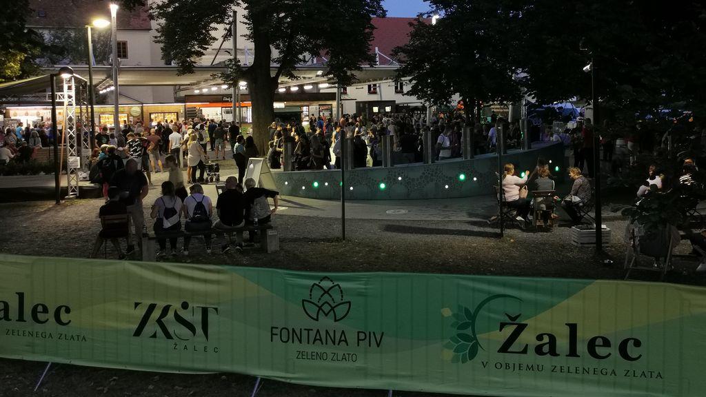 Video novica: Srečanje fontan - Žalec 2021