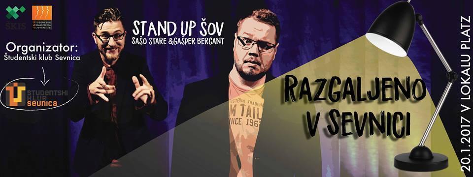 Stand up šov: Razgaljeno v Sevnici