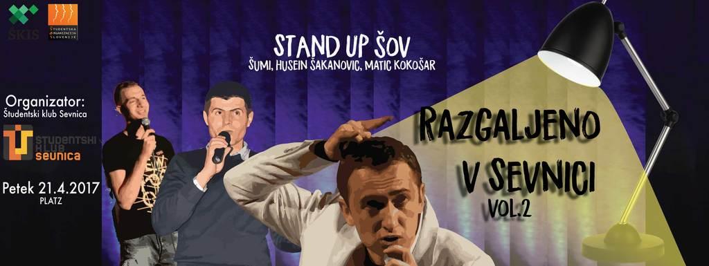 STAND UP ŠOV: Razgaljeno v Sevnici vol.2