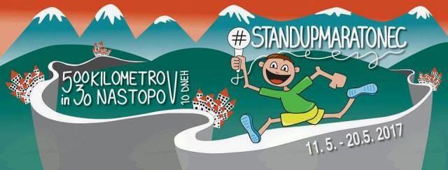 StandUp Maratonec 4. dan #1 Sevnica
