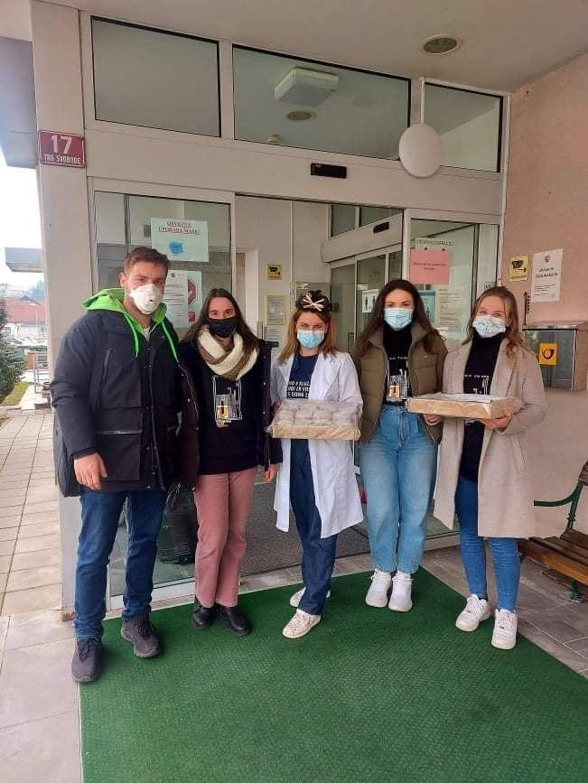Študentski klub Sevnica ponovno dobrodelen