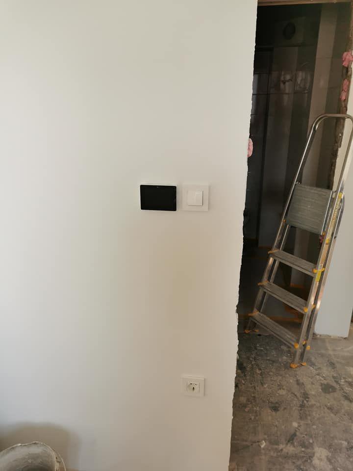 Montaža termostatov