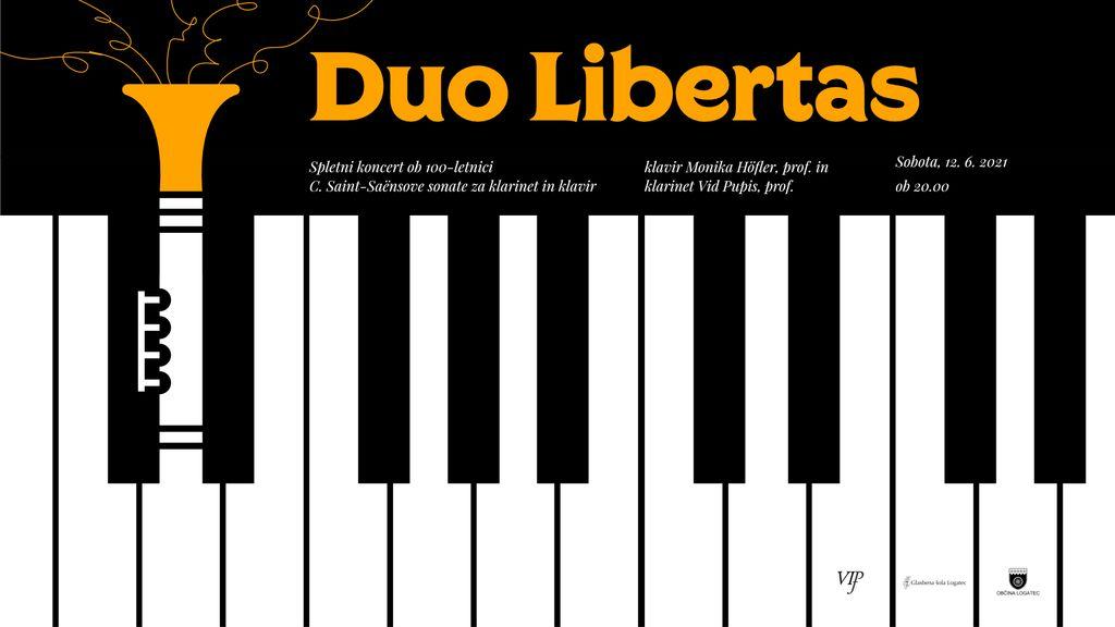 Spletni koncert - Duo Libertas
