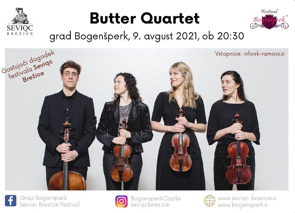 Butter Quartet - koncert baročne glasbe