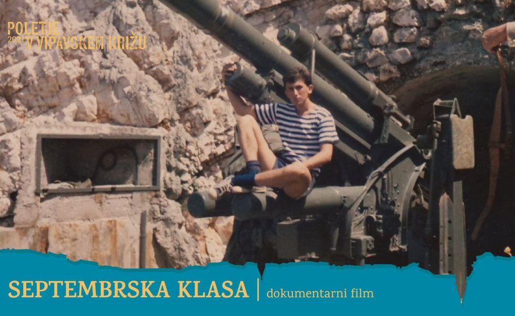 Dokumentarni film: Septembrska klasa I Poletje v Vipavskem Križu 2021