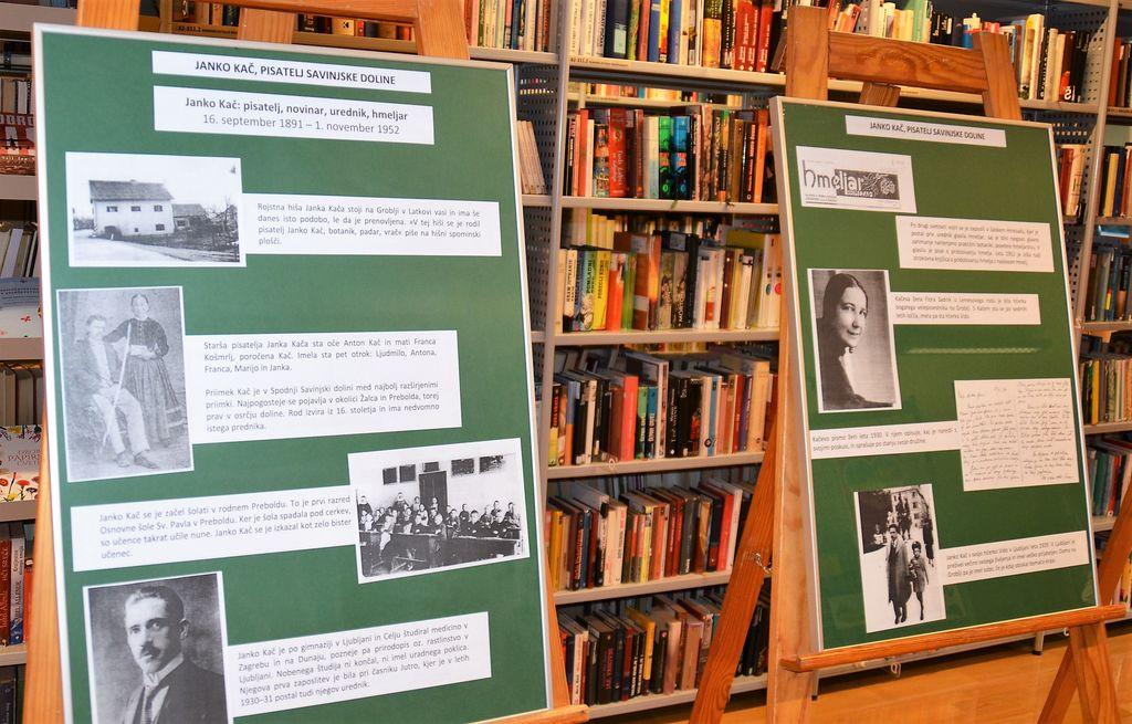 Počastitev 130. obletnice rojstva Janka Kača v preboldski knjižnici