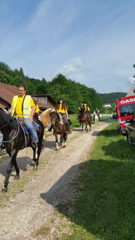 Tridnevni pohod po mejah občine Sevnica