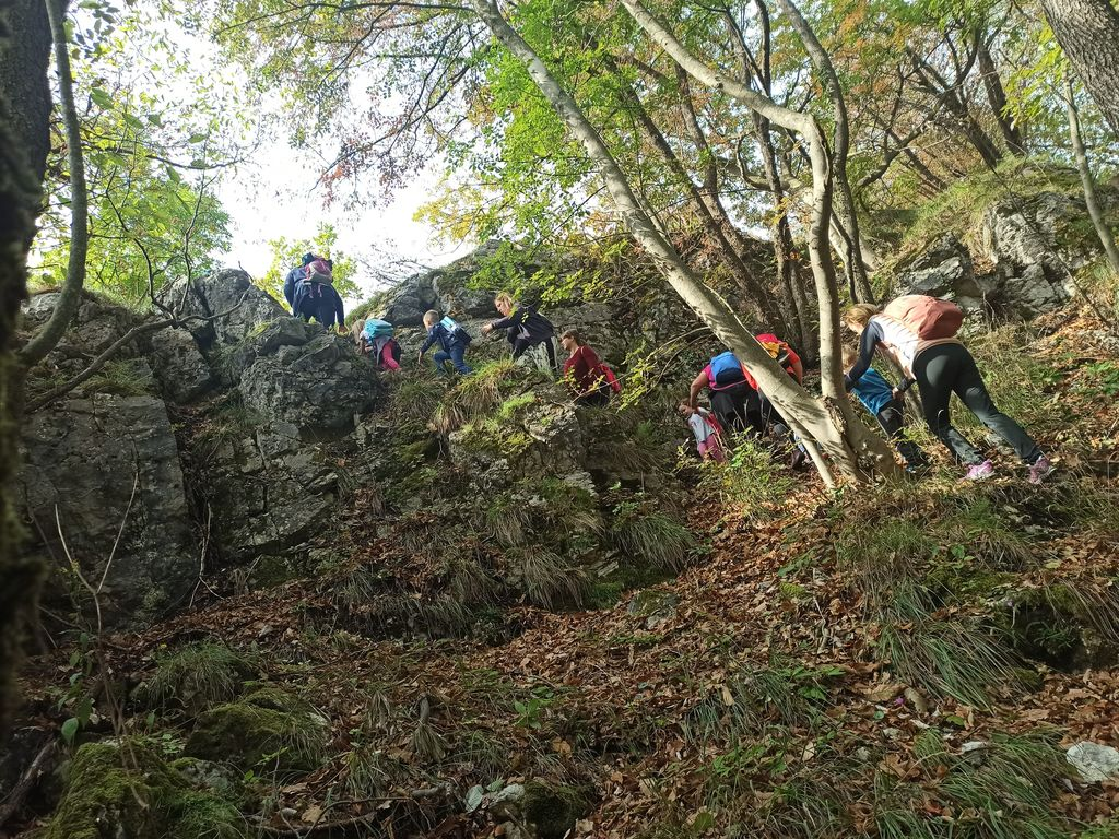 Planinski krožek Vrtca Ciciban Sevnica