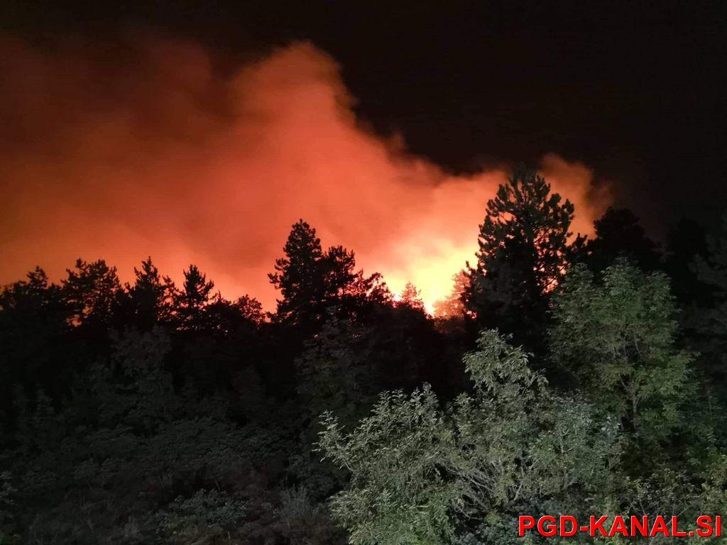 Požar na Cerju