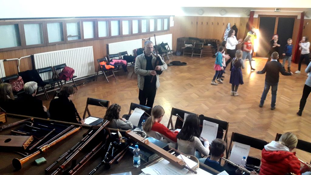 Praznovanje kulture na šoli v Podgorju