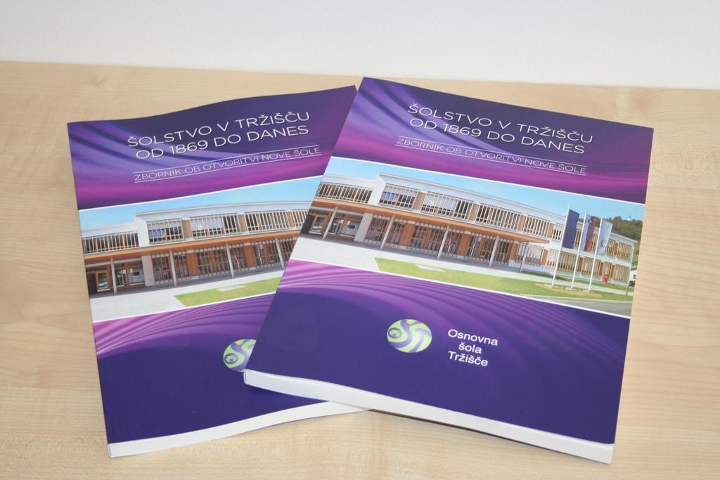 Z zbornikom  o zgodovini šolstva obeležili odprtje nove šole v Tržišču