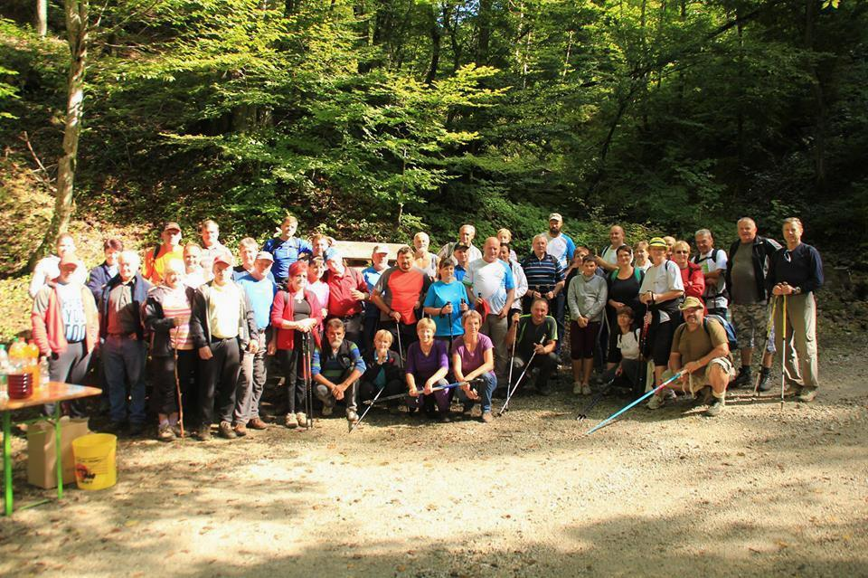 Slovenija v gibanju - 7. eko pohod Krampljevec - 4. september 2016