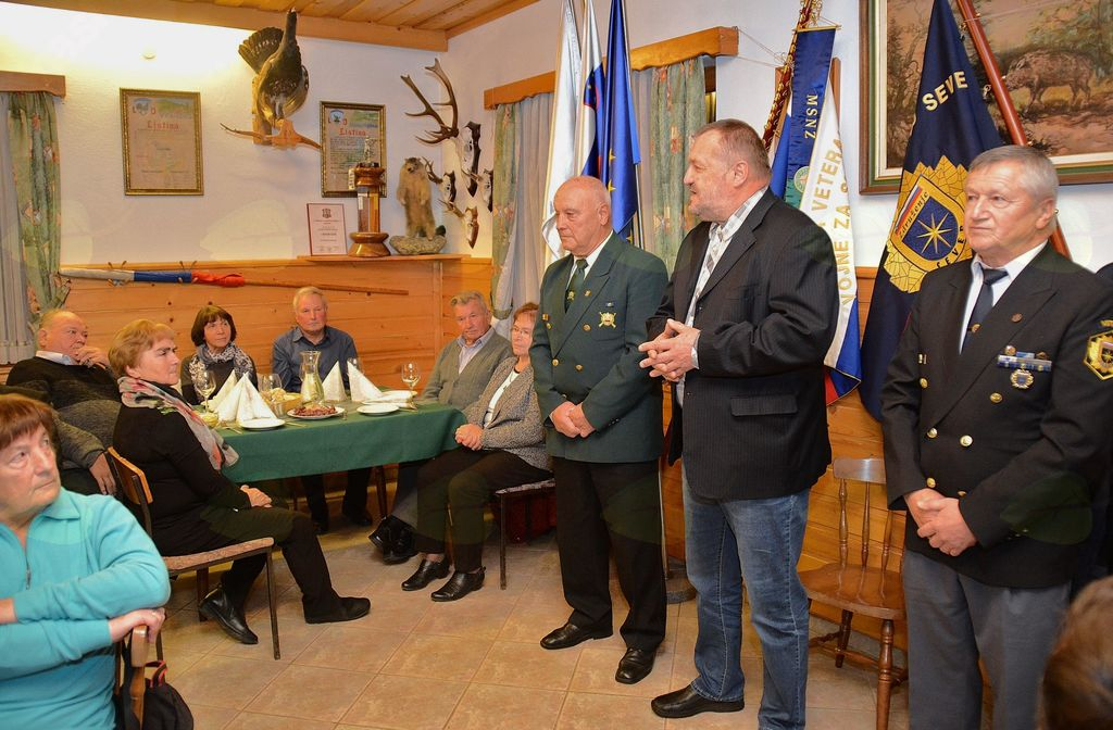 Veteranske družine  gostila Občina Vransko