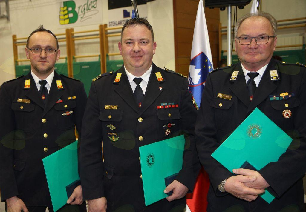 Zaslužnim priznanja Civilne zaščite