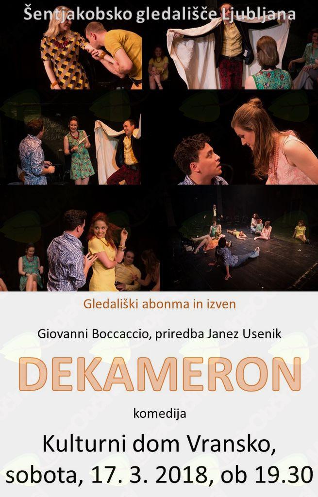 DEKAMERON - gledališki abonma in izven