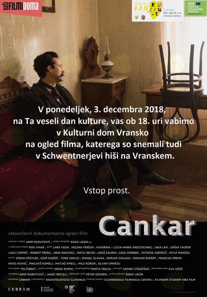 CANKAR, celovečerni dokumentarno-igrani film