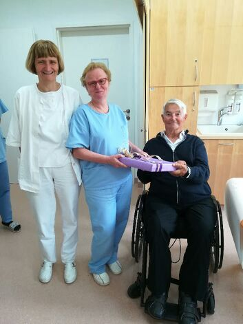 Upokojitev medicinske sestre Lojzke