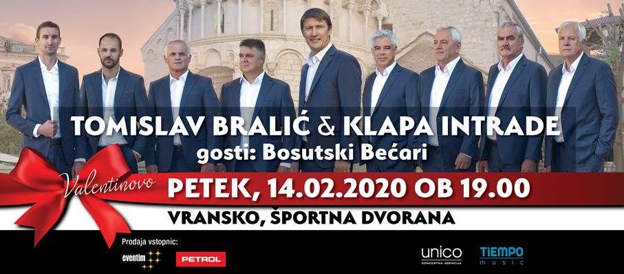 TOMISLAV BRALIĆ & KLAPA INTRADE, koncert
