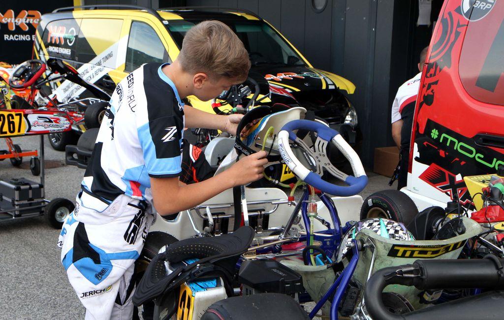Napete karting dirke na Vranskem, Celjani ekipno tretji