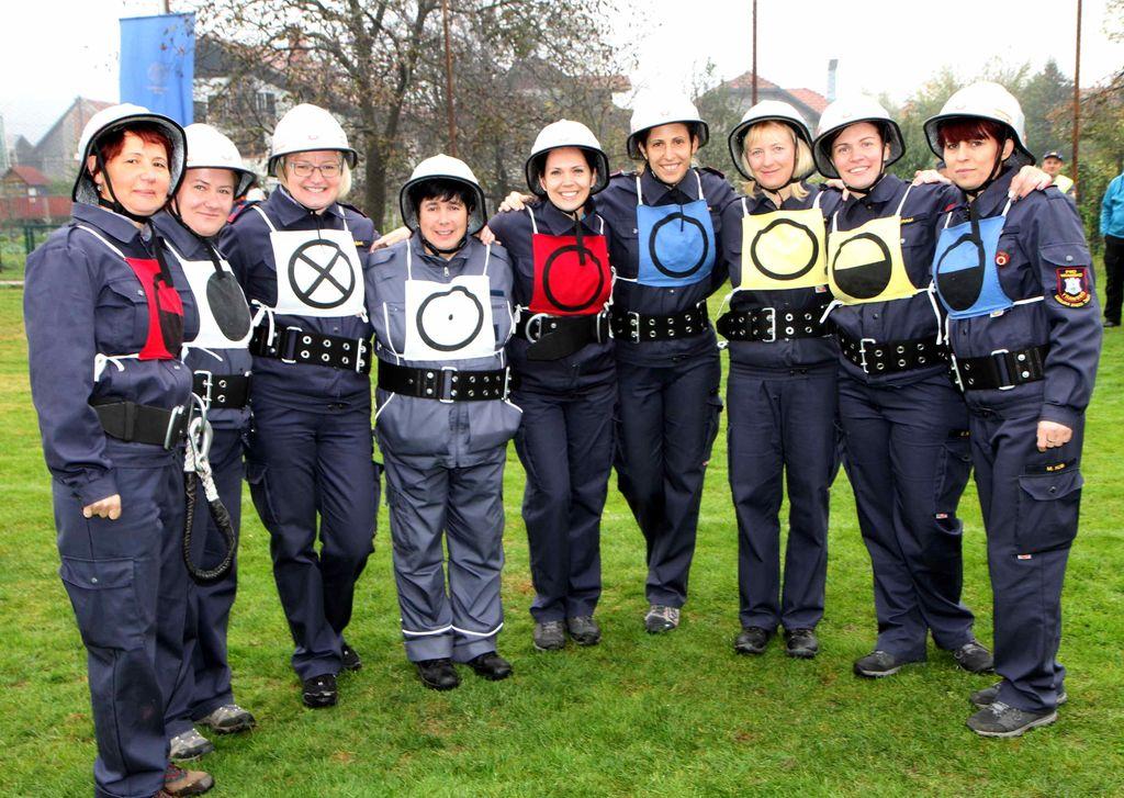 Priprave članic B PGD Vransko na državno gasilsko tekmovanje
