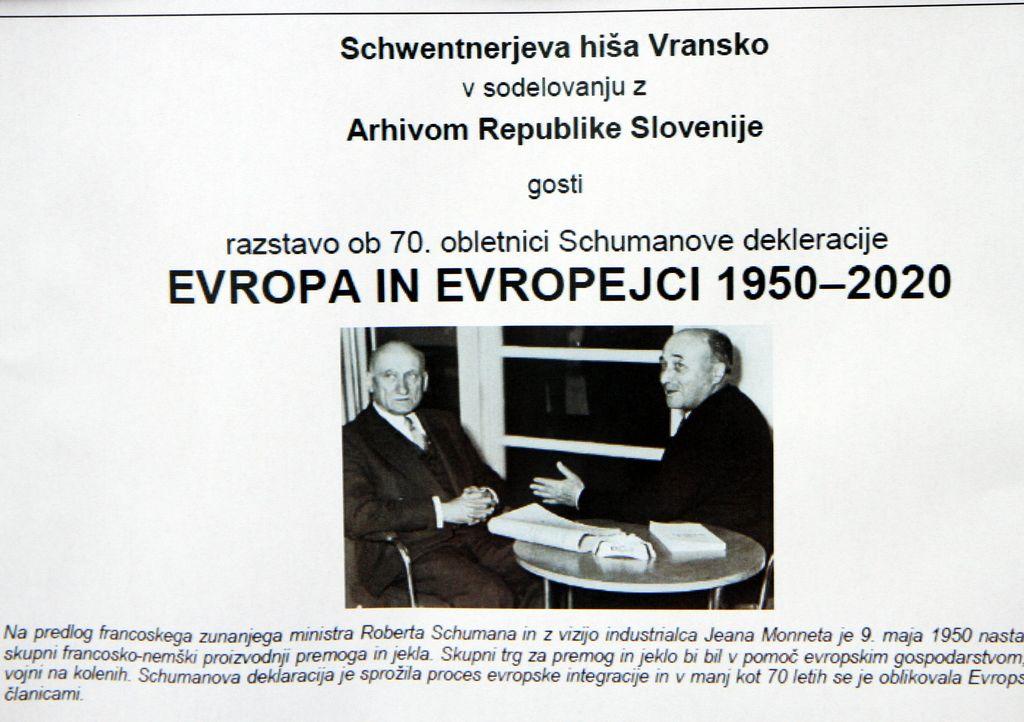 Razstava »Evropa in Evropejci 1950–2020«