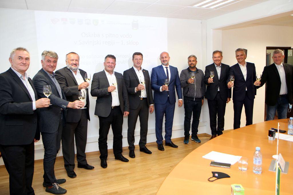 Skoraj 3,6 milijona evrov za boljšo oskrbo s pitno vodo