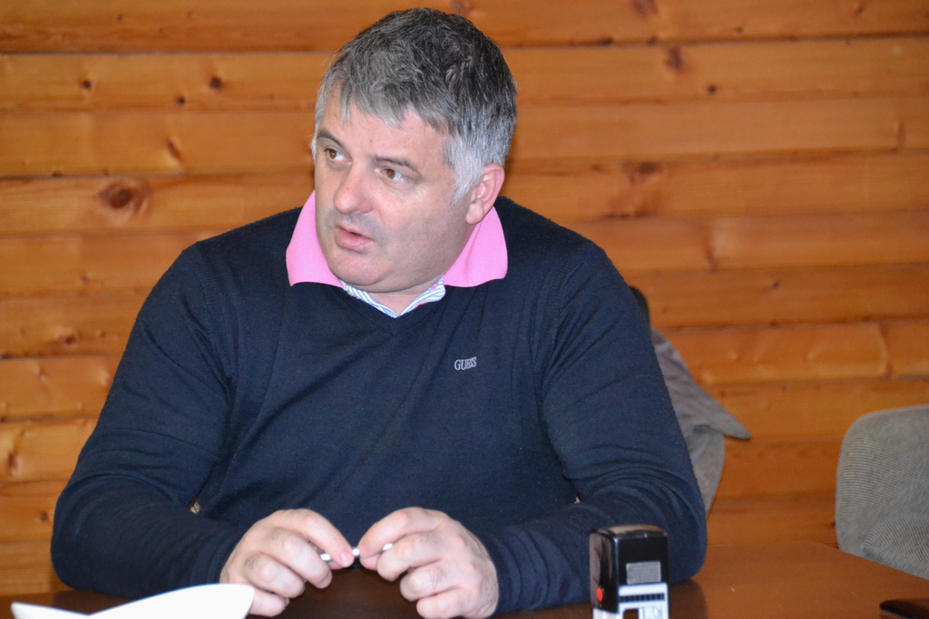 Rupert Gole, župan Občine Šentrupert