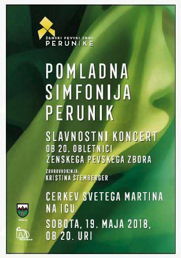 Koncert Perunik ob 20. obletnici zbora