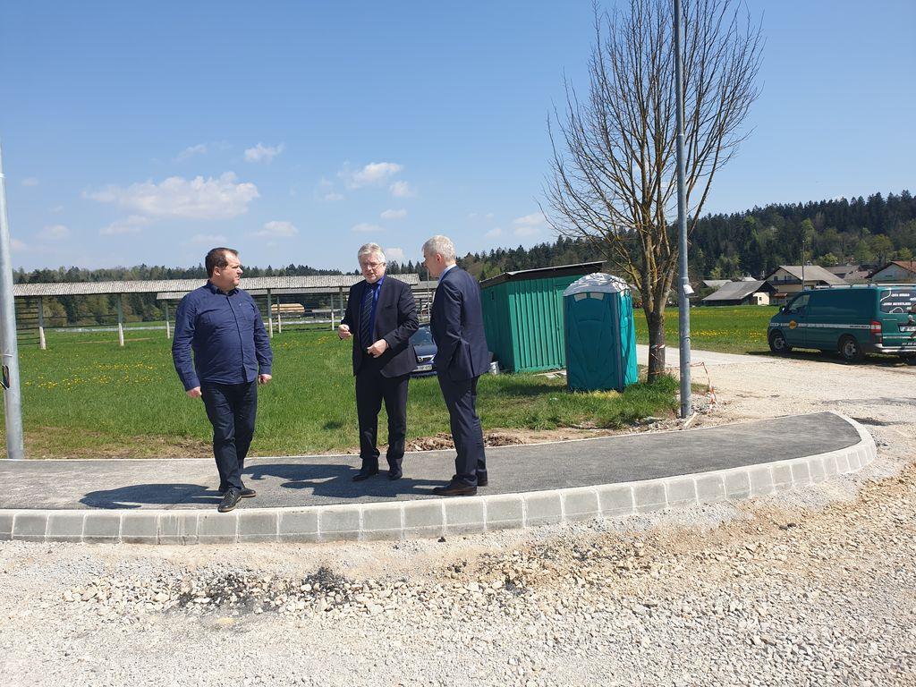Župan sprejel vodstvo Direkcije RS za infrastrukturo