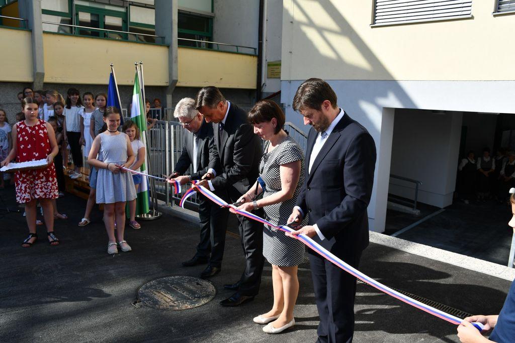 Odprtje prenovljenih prostorov in novega prizidka OŠ Ig