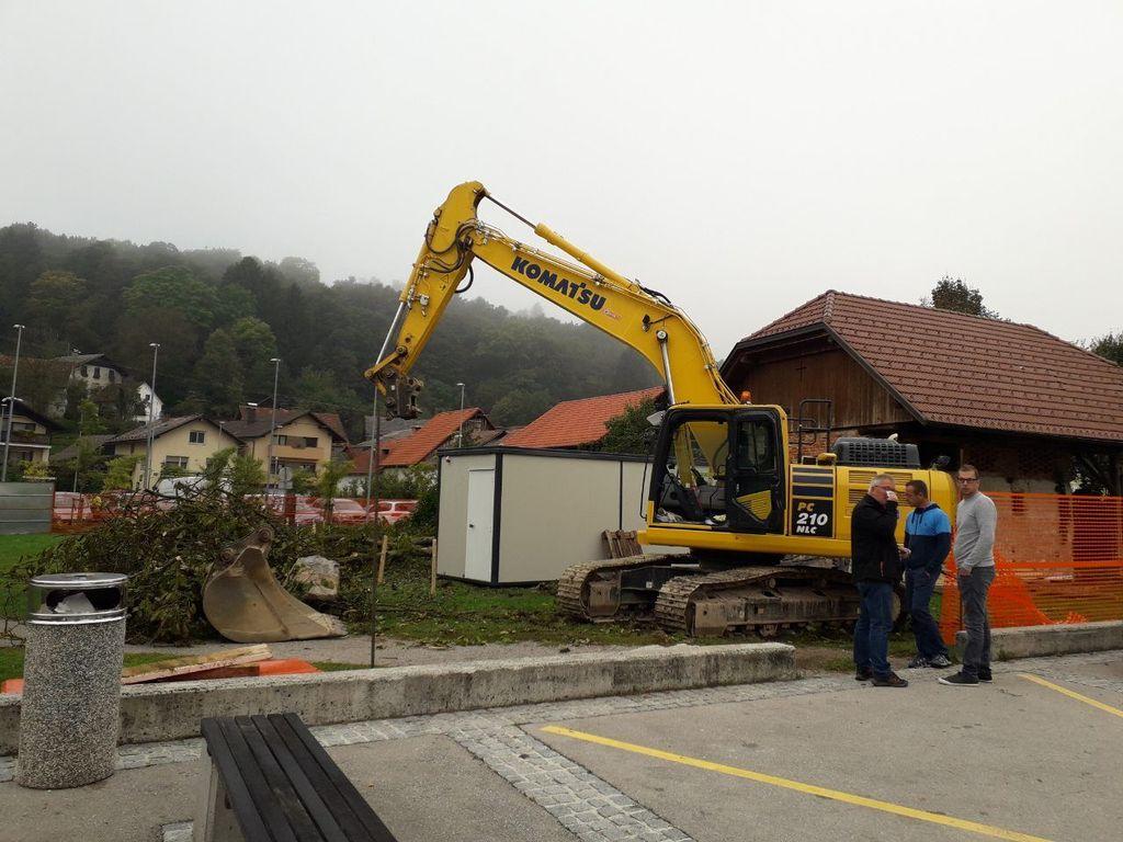 """Gradnja objekta  """"Interpretacijski center Ig"""" se je začela"""