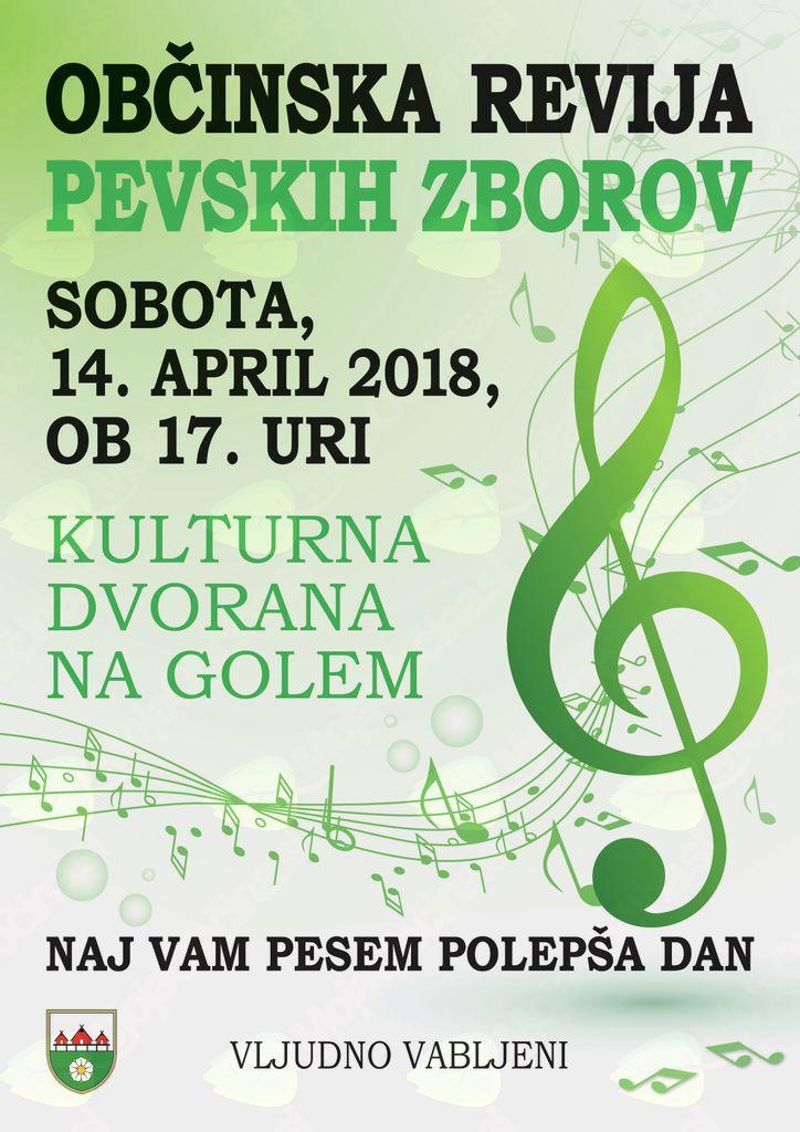 Občinska revija pevskih zborov