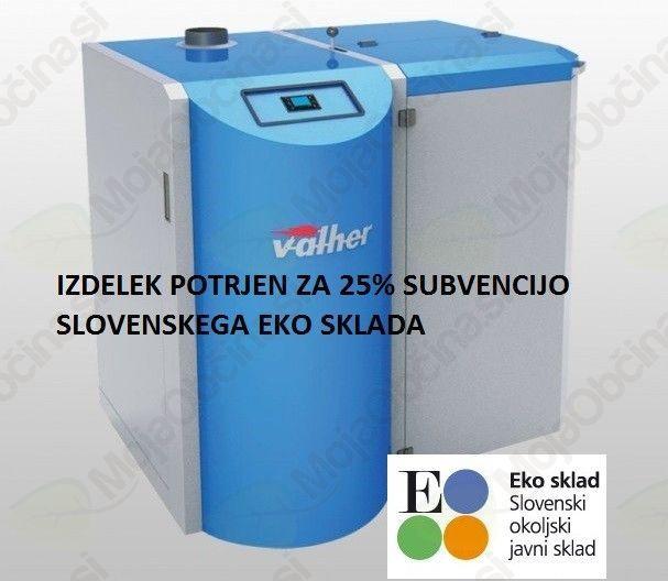 Varjeni kotel na pelete Valher PK – Slovenski izdelek