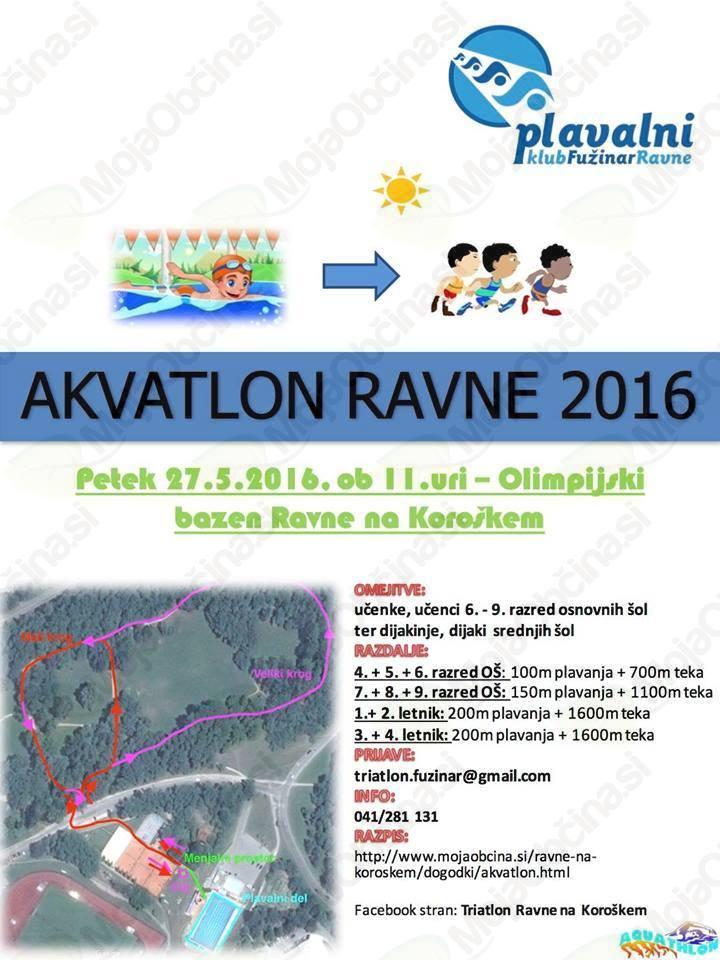 Akvatlon Ravne 2016
