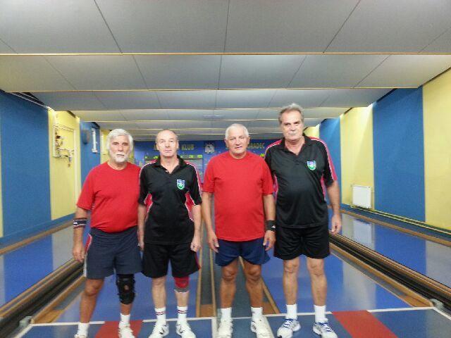Tone Garb, Drago Tisnikar, Marko Skopljakovič in Anton Zajc