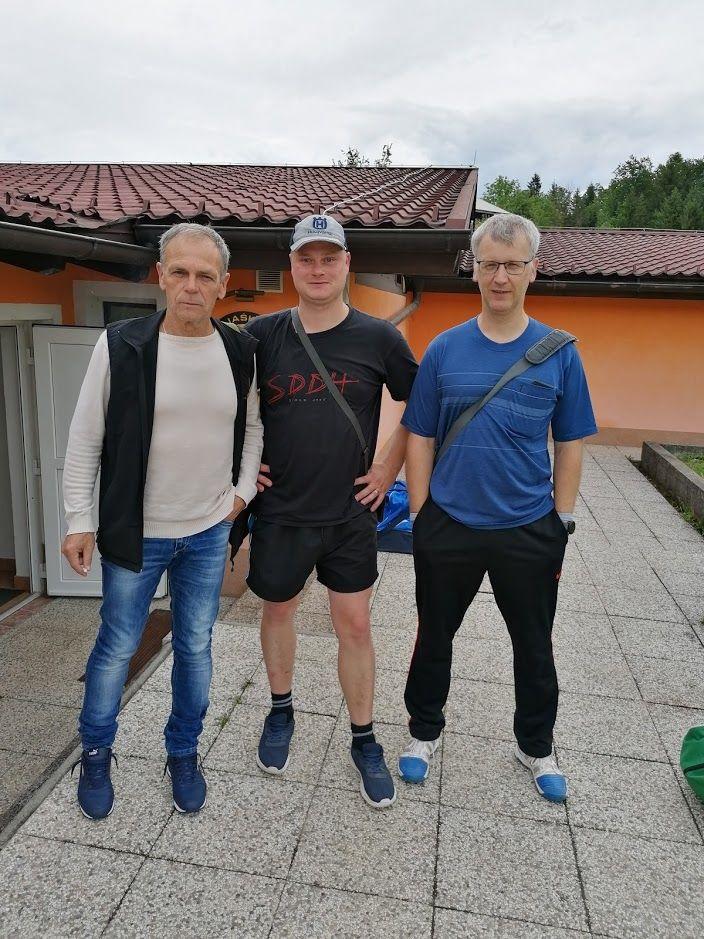 Silvo Belaj, Marko Golob in Iztok Javornik